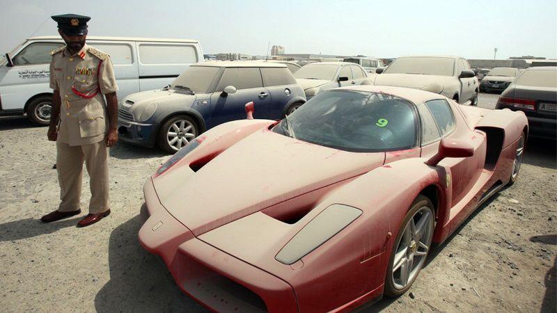 грязні авто в ОАЄ