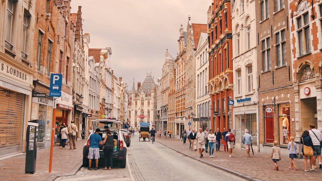 Вулички Брюгге