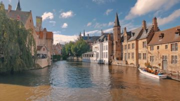 Місто Брюгге Бельгія