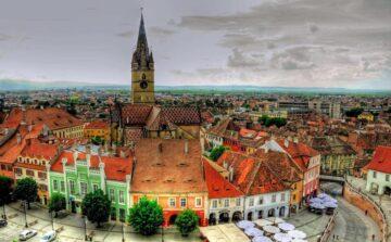Місто Сібіу Румунія