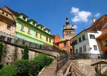 Місто Сігішоара Румунія
