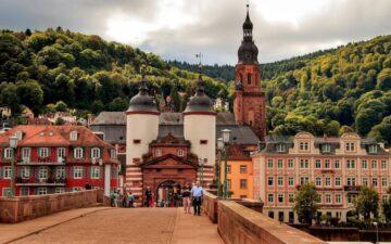 Місто Гейдельберг Німеччина