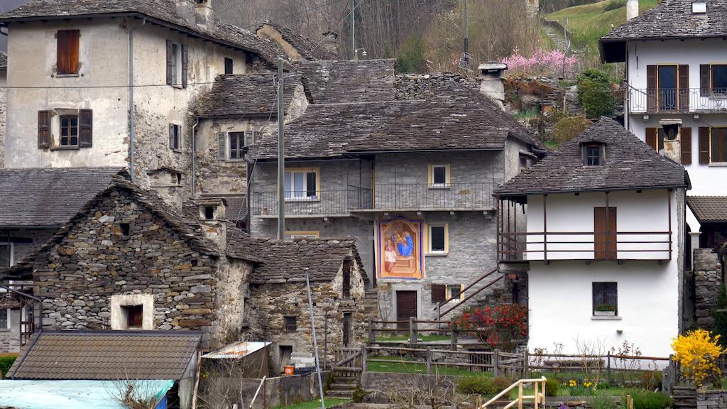 Старі будинки в селі