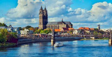 Місто Магдебург Німеччина