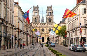 Місто Орлеан Франція