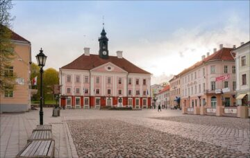 Місто Тарту Естонія