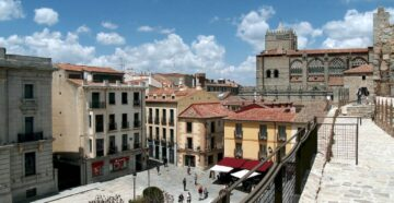 Місто Авіла Іспанія