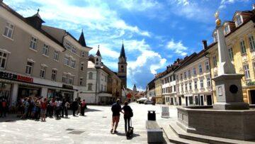 Місто Крань Словенія