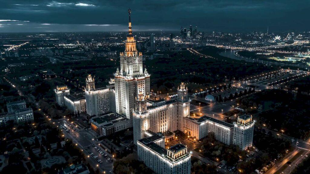 Нічна Москва