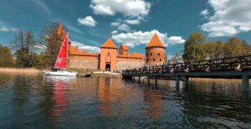 Місто Тракай Литва