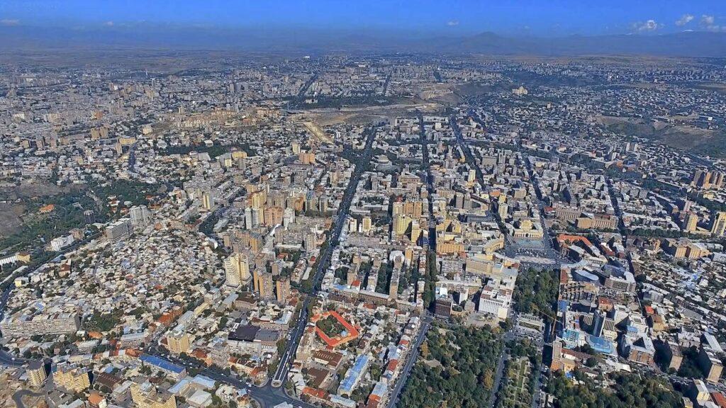 Панорама Єревана