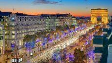 Єлисейські Поля Париж