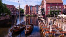 Місто Люнебург Німеччина