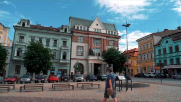 Місто Колін Чехія