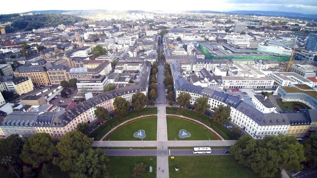 Панорама Кобленца