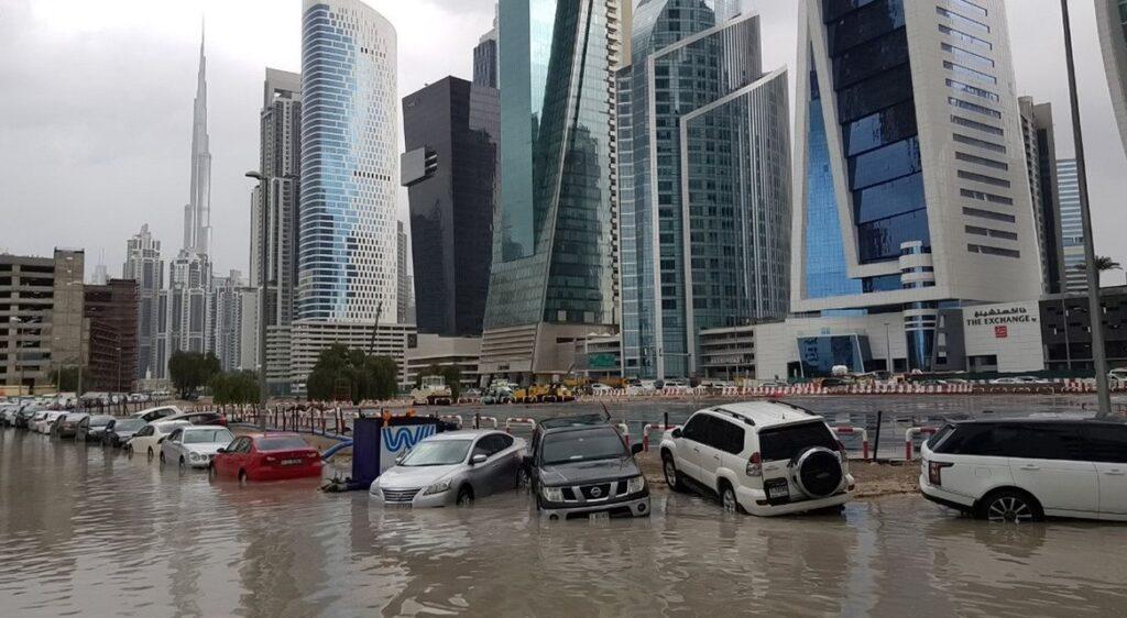 Дубай затопило