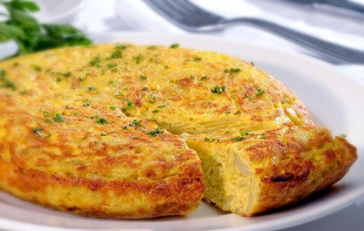 Тортилья з картоплею