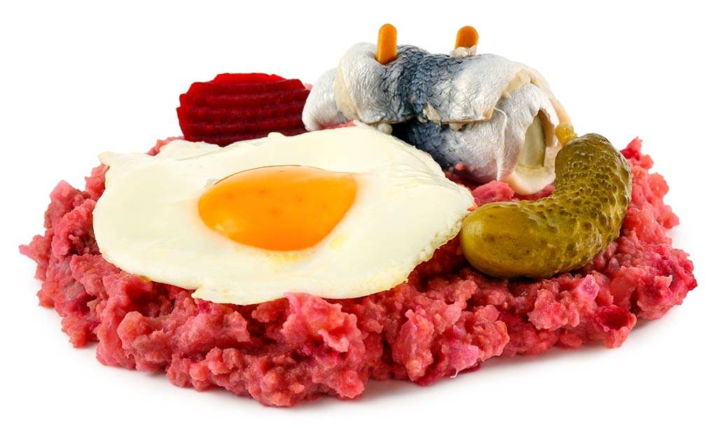 Блюдо Лаубскаус